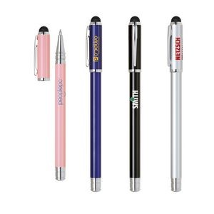 Stylus & Stainless Construction Rollerball Pen