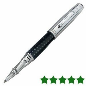 Monteverde USA® Invincia™ Rollerball Pen (Chrome Silver/Black)