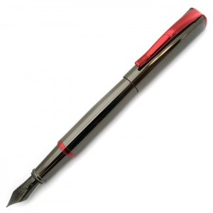 Monteverde USA® Impressa™ Fountain Pen (Gun Metal Gray/Red)