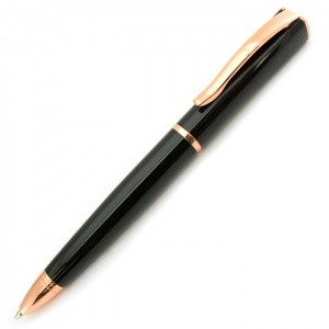 Monteverde USA® Impressa™ Ballpoint Pen (Black/Rose Gold)