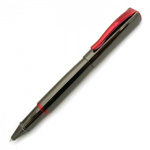 Monteverde USA® Impressa™ Rollerball Pen (Gun Metal Gray/Red)