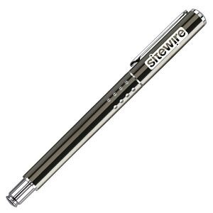 Gun Metal Gray Brass Ballpoint Pen