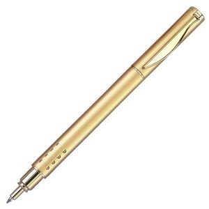 Satin Gold Brass Roller Ball Pen